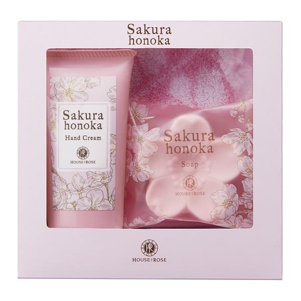 桜ほの香 ハンドセット / フルーティフローラルグリーンの香り