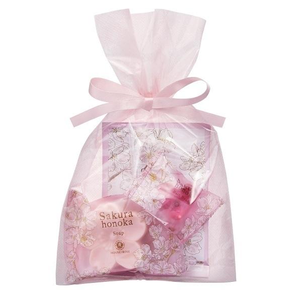 桜ほの香 バスセット / フルーティフローラルグリーンの香り
