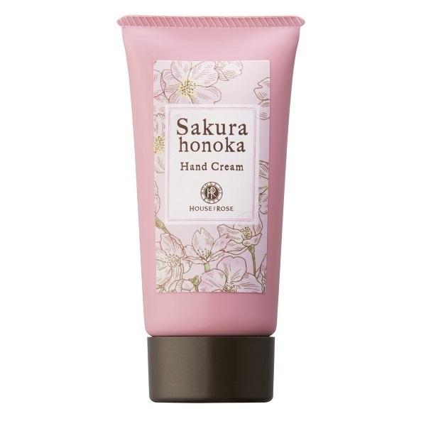 桜ほの香 ハンドクリーム / 50g / フルーティフローラルグリーンの香り