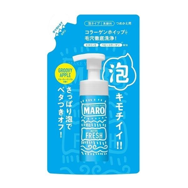 グルーヴィー洗顔料 詰め替え アクティブフレッシュ / 詰替え / 130ml