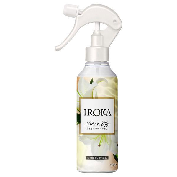 フレア フレグランス IROKA 衣類のリフレッシュミスト ネイキッドリリー / 本体 / 200ml / ネイキッドリリーの香り