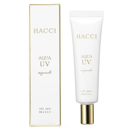 アクアUV / SPF50+ / PA++++ / 30g / アクアティックグリーンの香り