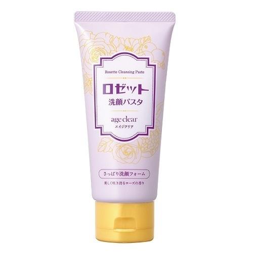 ロゼット洗顔パスタ エイジクリア さっぱり洗顔フォーム / 120g / さっぱり