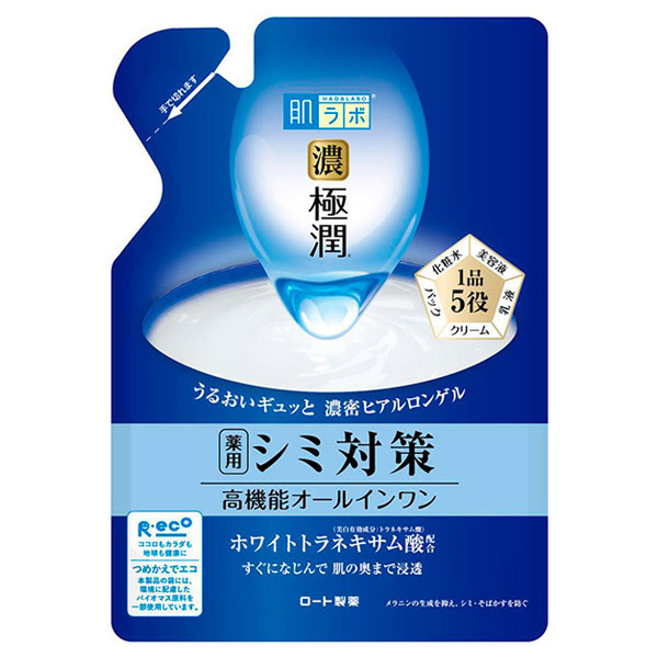 極潤 美白パーフェクトゲル / 詰替え / 80g