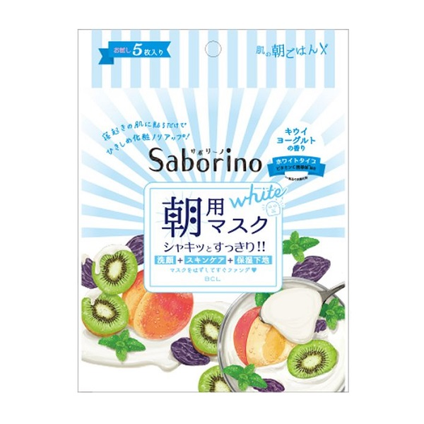 目ざまシート フレッシュ果実のホワイトタイプ / 5枚入り