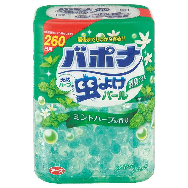 バポナ 天然ハーブの虫よけパール / 260日用 / ミントハーブ