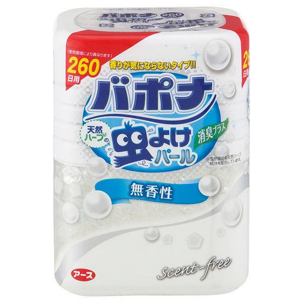 バポナ 天然ハーブの虫よけパール 無香性 / 260日用