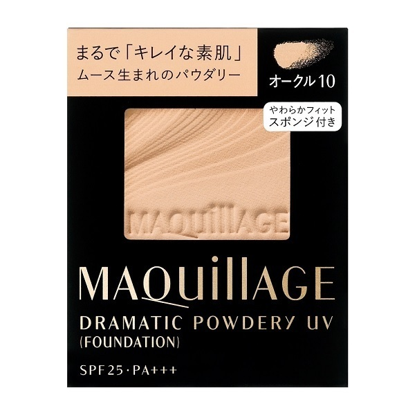 ドラマティックパウダリー UV / SPF25 / PA+++ / リフィル / オークル10 / 9.3g