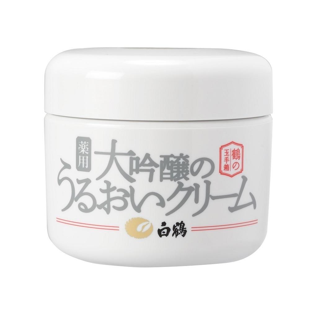 鶴の玉手箱 白鶴 薬用 大吟醸のうるおいクリーム / 90g