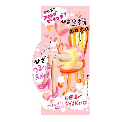 ひざピーリングジェル / 90g / つるつる / ピーチマンゴーの香り