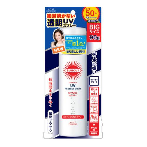 日焼け止め透明スプレー無香料 / SPF50+ / PA++++ / 90g