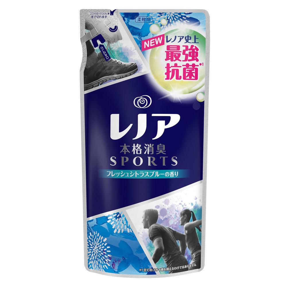 レノア本格消臭 SPORTS フレッシュシトラスブルーの香り / 詰替え / 430ml
