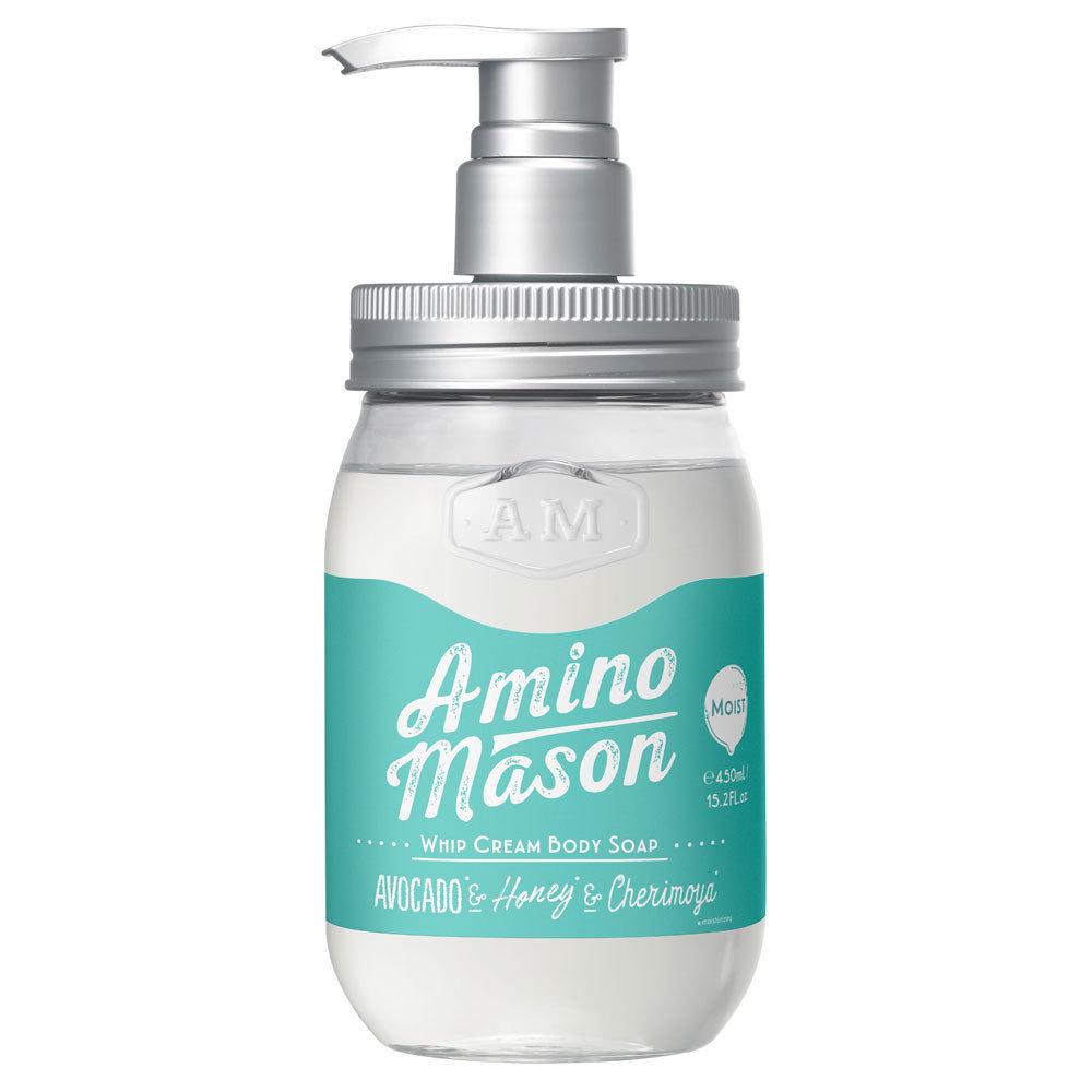 アミノメイソン ホイップクリーム ボディソープ モイスト / 本体 / 450ml / しっとり / クラシックローズブーケの香り