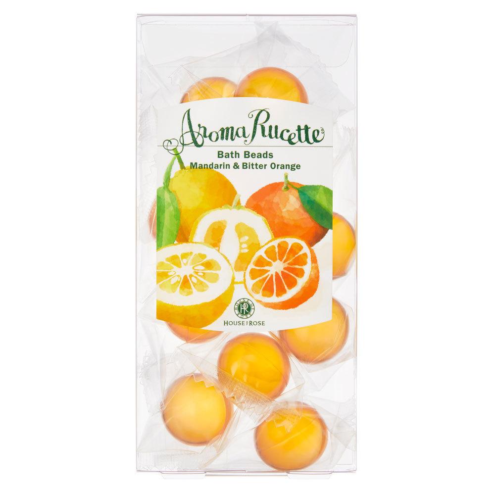 アロマルセット バスビーズ MD&BO(マンダリン&ビターオレンジの香り) / 本体 / 7g×11個 / マンダリン&ビターオレンジの香り