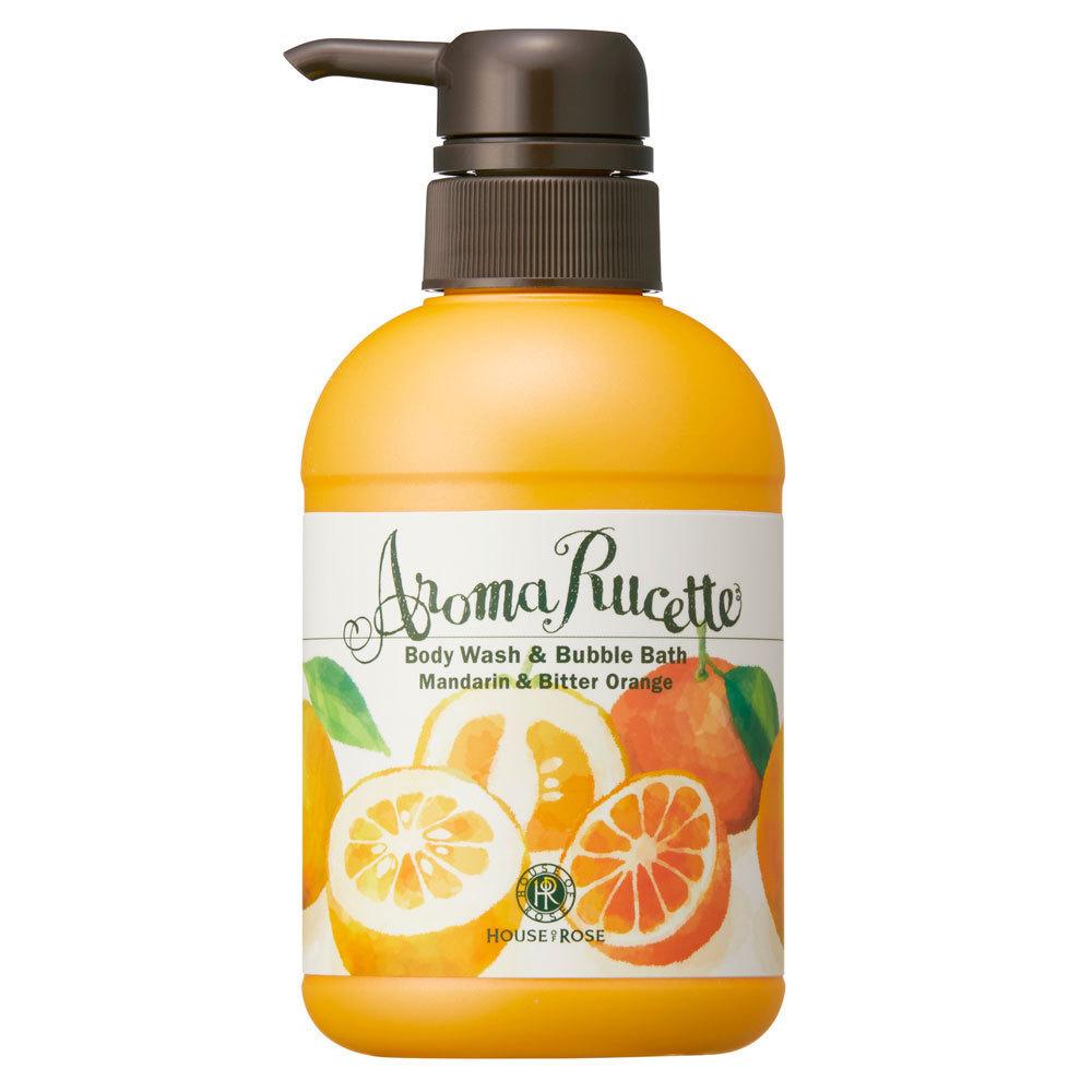 アロマルセット ボディウォッシュ&バブルバス MD&BO(マンダリン&ビターオレンジの香り) / 本体 / 350ml / マンダリン&ビターオレンジの香り