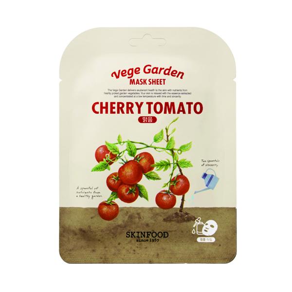 ベジガーデンマスクシート / 本体 / チェリートマト / 20ml / しっとり / フルーティーなトマトの香り