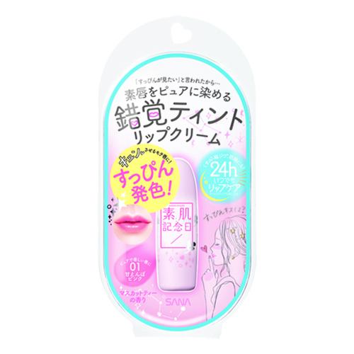 フェイクヌードリップ / 本体 / 01 甘えんぼピンク / マスカットティーの香り