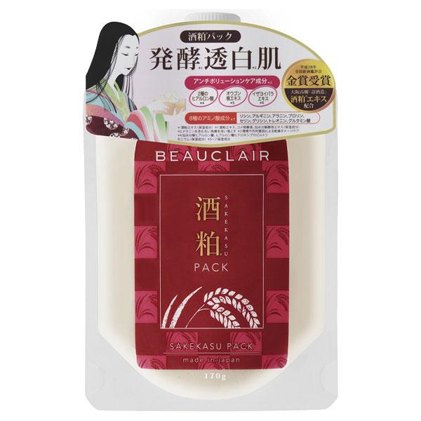 酒粕パック / 本体 / 170g / ゆず&オレンジの香り(精油)