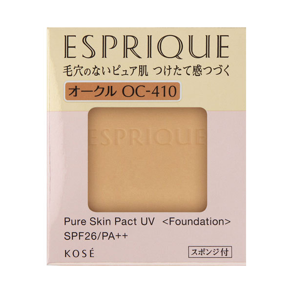 ピュアスキン パクト UV / SPF26 / PA++ / OC-410 オークル / 9.3g