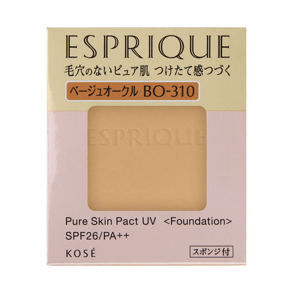 ピュアスキン パクト UV / SPF26 / PA++ / BO-310 ベージュオークル / 9.3g