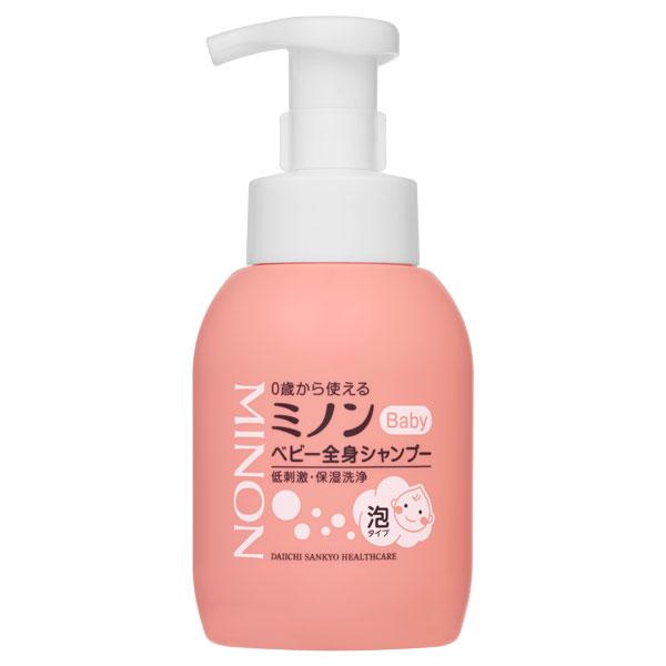 ミノンベビー 全身シャンプー / 本体 / 350ml / 無香料