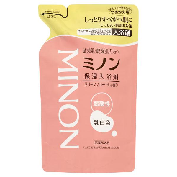 ミノン薬用保湿入浴剤 / 詰替え / 400ml / グリーンフローラルの香り