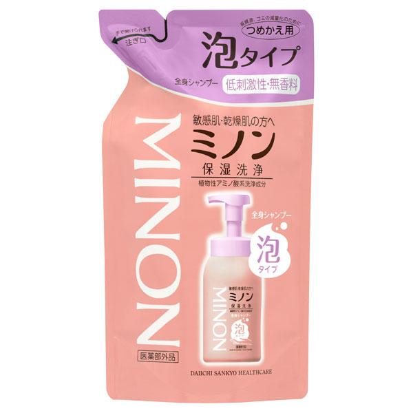 ミノン全身シャンプー(泡タイプ) / 詰替え / 400mL / 無香料