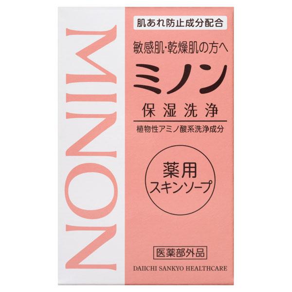 ミノン薬用スキンソープ / 本体 / 80g