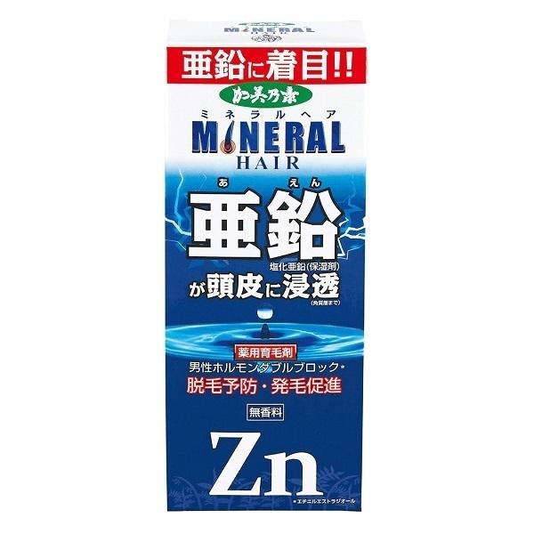 薬用加美乃素ミネラルヘア育毛剤 / 180mL / 無香料