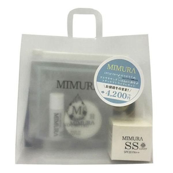 【限定】スムーススキンカバー×NOUMITSUトライアルセット / SPF20 / PA++ / トライアル / スムーススキンカバー20g、ナイトマスク7g、トリートメントローション10ml / ラベンダーの香り