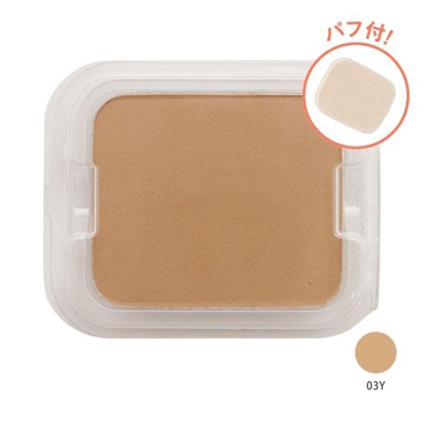 タイムレスフォギーミネラルファンデーション / SPF50+ / PA+++ / リフィル(パフ付) / 【03Y】イエロー系の明るめな肌色 / 10g