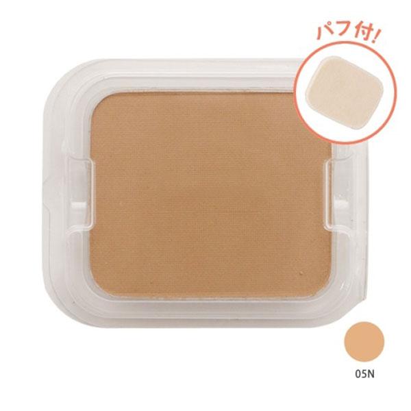 タイムレスフォギーミネラルファンデーション / SPF50+ / PA+++ / リフィル(パフ付) / 【05N】オークル系の健康的な肌色 / 10g