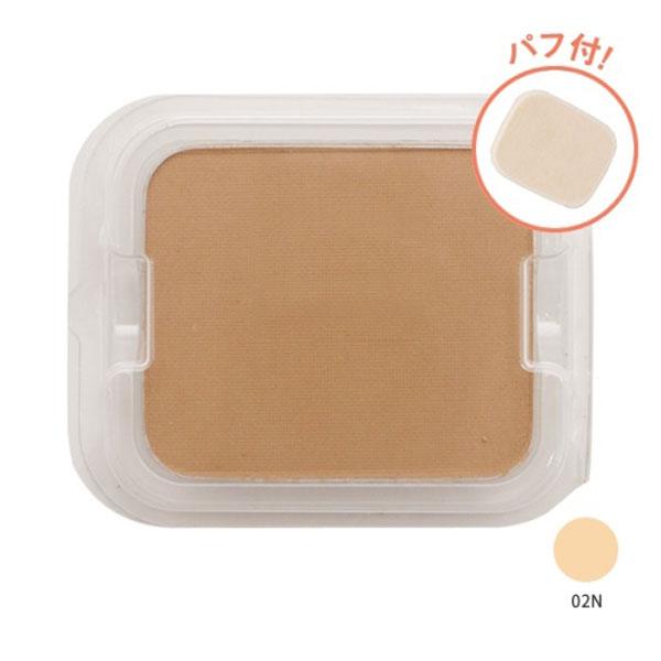 タイムレスフォギーミネラルファンデーション / SPF50+ / PA+++ / リフィル(パフ付) / 【02N】明るめの肌色 / 10g