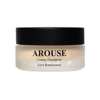 AROUSE クリーミー ファンデーション / 【Art-10】ライトナチュラル / 30g / 自然なやや明るめの肌色
