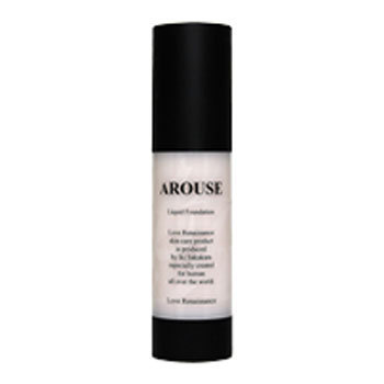 AROUSE リキッド ファンデーション / 【Art-30】ライトオークル / 35g / 自然なやや濃いめの肌色