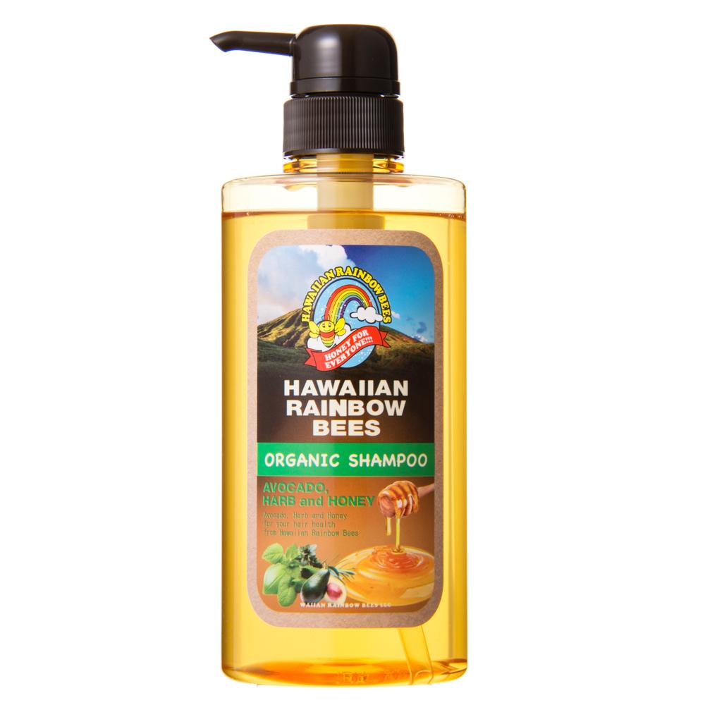 オーガニック スカルプケア シャンプー アボカド・ハーブ&ハニー / シャンプー(本体) / 500ml / 大地のパワーを感じるハーバルアロマの香り