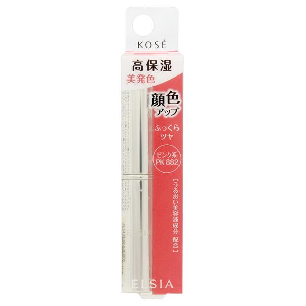 プラチナム 顔色アップ エッセンスルージュ / 本体 / PK882 ピンク系 / 3.5g / 無香料
