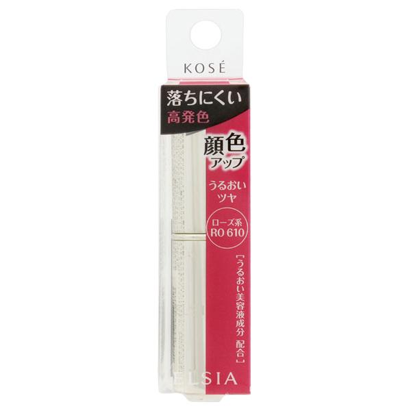 プラチナム 顔色アップ ラスティングルージュ / 本体 / RO610 ローズ系 / 5g / 無香料