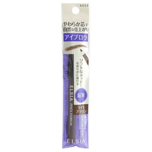 プラチナム 鉛筆 アイブロウ / 本体 / BR301 ライトブラウン / 1.1g / 無香料