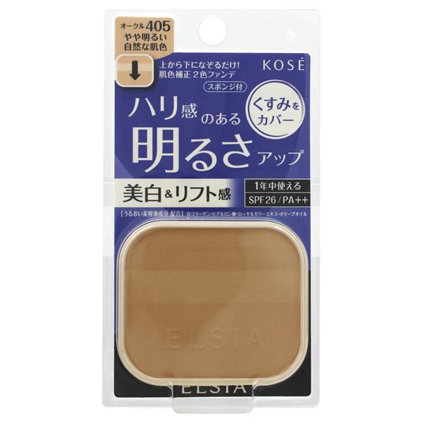 プラチナム 明るさアップ ファンデーション / SPF26 / PA++ / リフィル / 405 オークル やや明るい自然な肌色 / 10g / 無香料