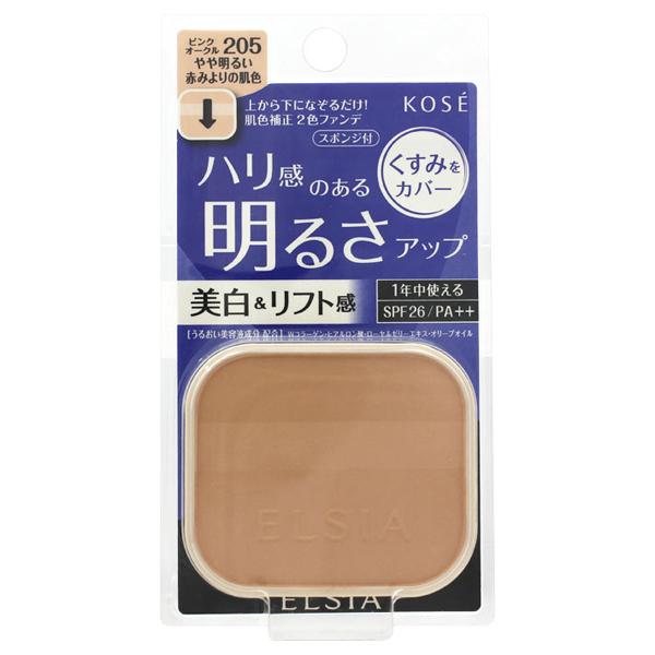 プラチナム 明るさアップ ファンデーション / SPF26 / PA++ / リフィル / 205 ピンクオークル やや明るい赤みよりの肌色 / 10g / 無香料