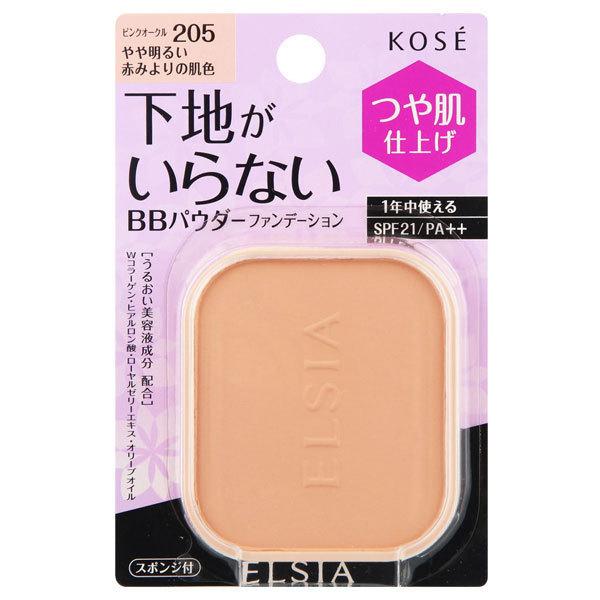 プラチナム BB パウダーファンデーション / SPF21 / PA++ / リフィル / 205 ピンクオークル やや明るい赤みよりの肌色 / 10g / 無香料