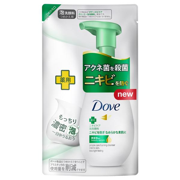 ニキビケア クリーミー泡洗顔料 / 詰替え / 140ml
