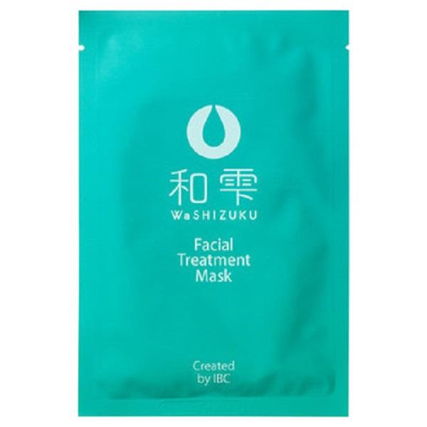 和雫 フェイシャル トリートメント マスク / 本体 / 23mLx5枚 / ゆずの香り