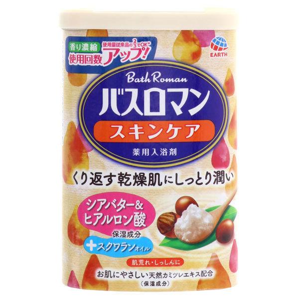 バスロマン スキンケア シアバター&ヒアルロン酸 / 600g