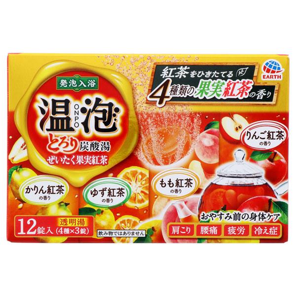 とろり炭酸湯 ぜいたく果実紅茶 12錠入 / 12錠 / 果実紅茶