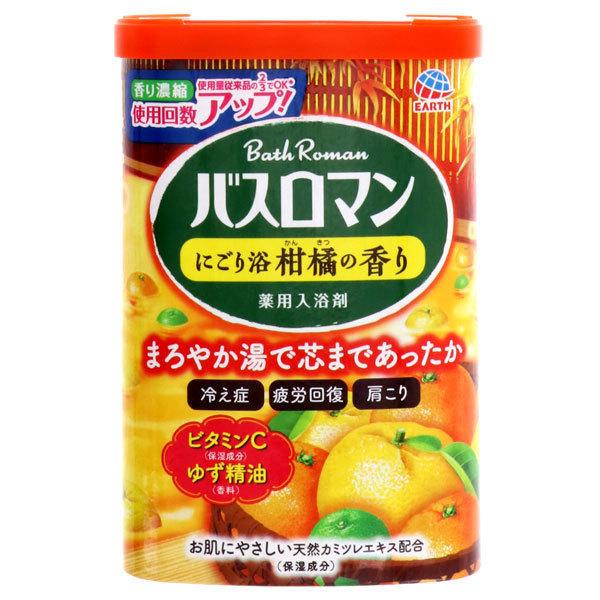 バスロマン にごり浴柑橘の香り / 600g / 柑橘の香り