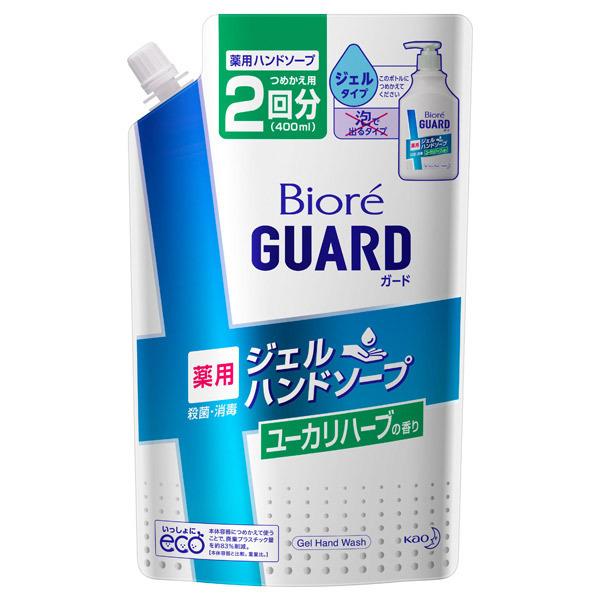 ビオレガード薬用ジェルハンドソープ ユーカリハーブの香り / 詰替え / 400ml