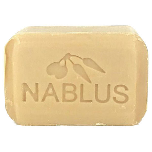 ナーブルスソープ(ざくろ) 100%無添加 オーガニック石鹸 フェイシャル&ボディー / 100g / 自然なざくろの香り