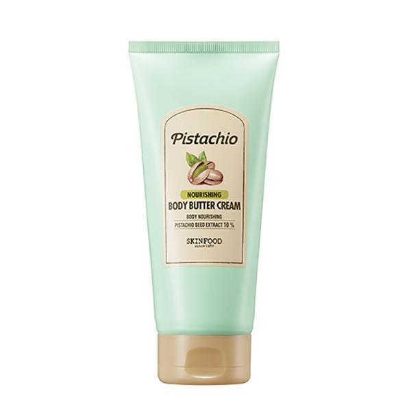 ピスタチオ ナリッシング ボディバタークリーム / 本体 / 200ml / しっとり / ほんのり甘いナッツの香り